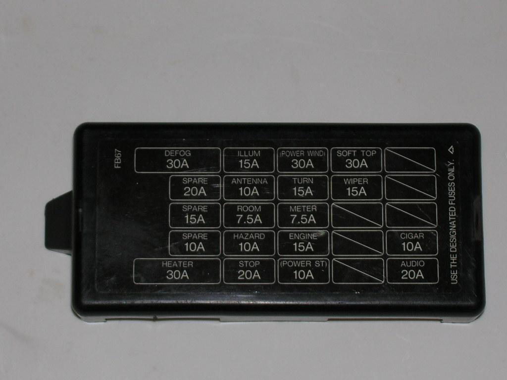 87 Rx7 Fuse Box Wiring Diagram Mazda 1990 Simple Post