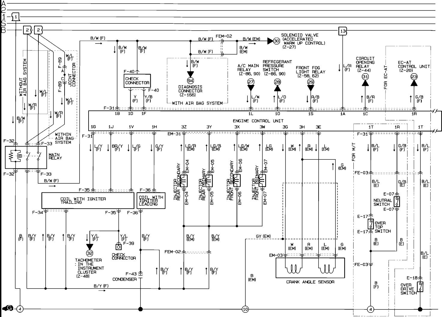 Rx7 Wiring Diagram 93 Harness. Diagram. Wiring Diagram Images