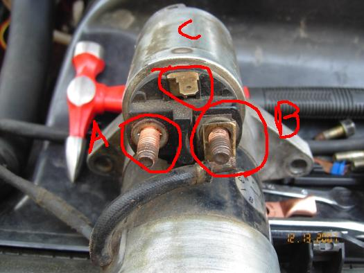 Ford 3 Post Solenoid Wiring Diagram How Can I Wire The Starter Outside The Main Harness