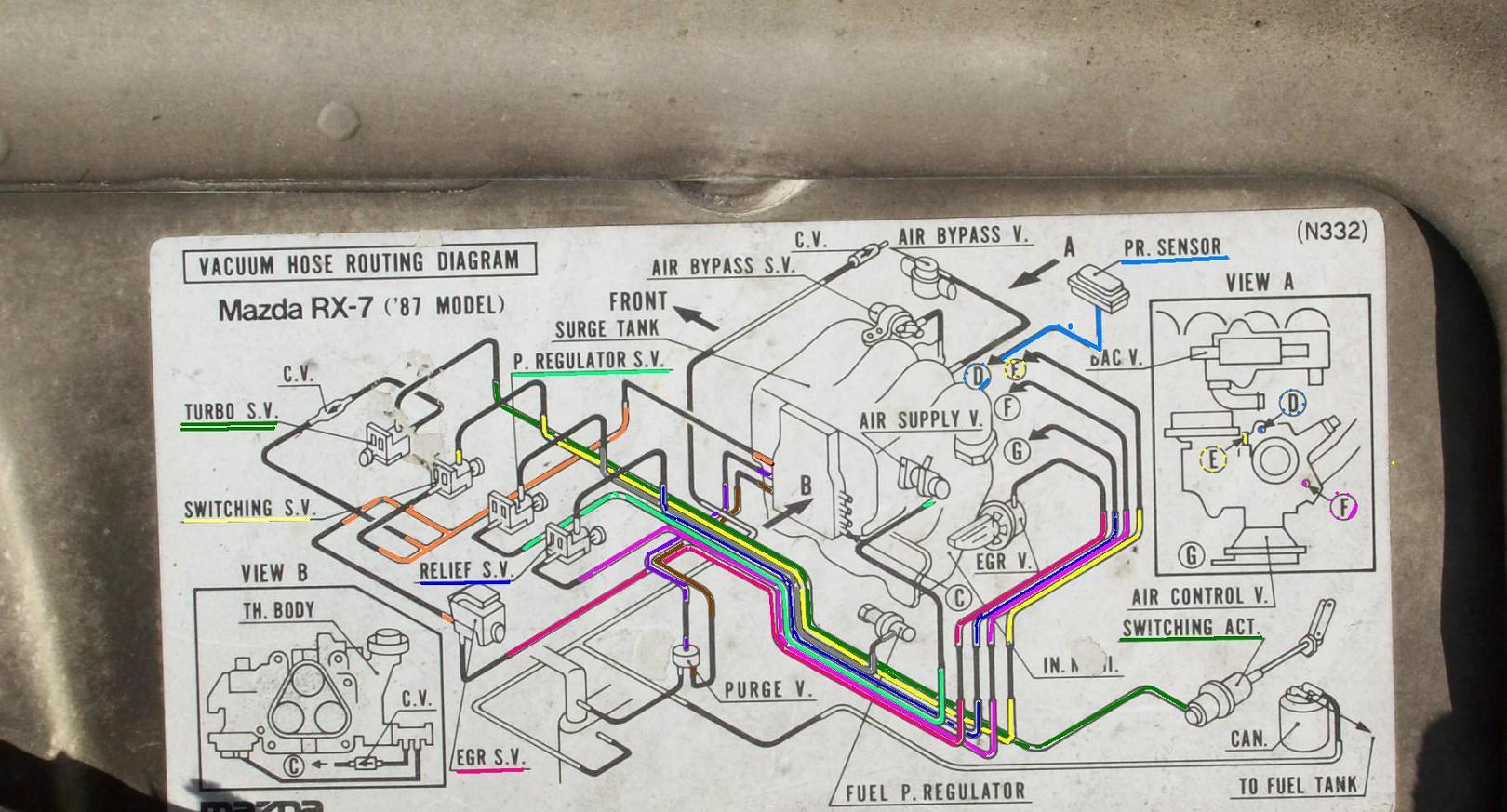 1992 mazda b2200 alternator wiring diagram 1948 ford 8n tractor 12 volt 1987 best library b2000