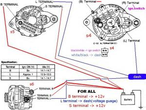 Wiring Diagram for charging system  RX7Club