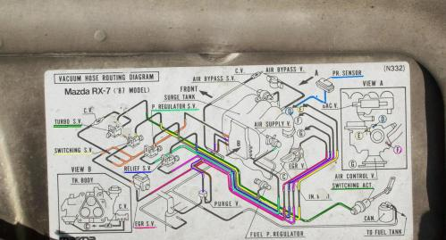 small resolution of vacuum hose diagram for 1987 mazda rx 7 turbo ii coloredtwo jpg