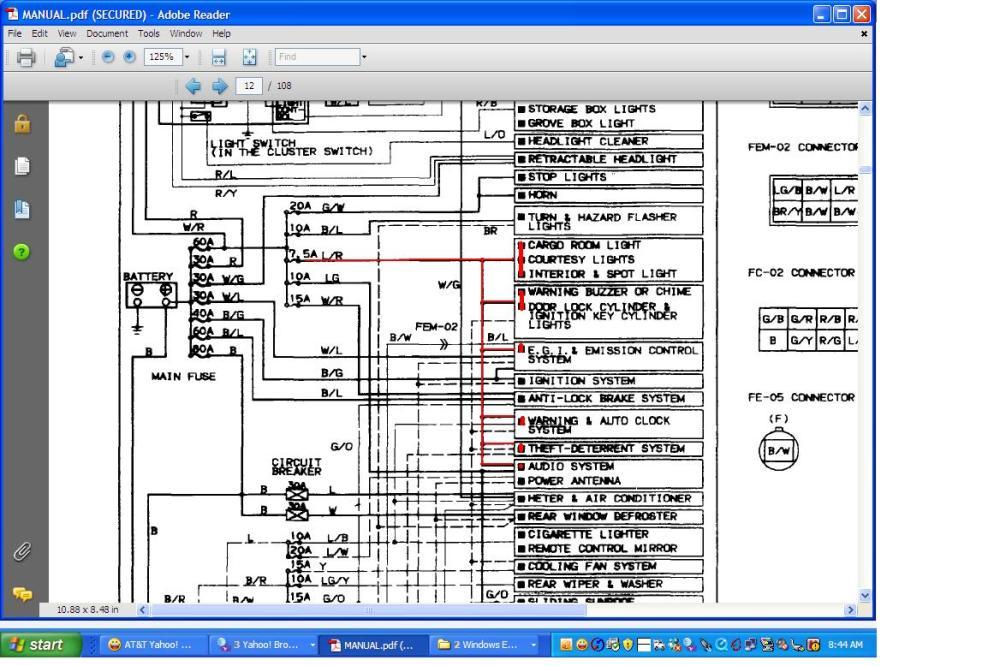 medium resolution of 2007 mazda 5 fuse diagram