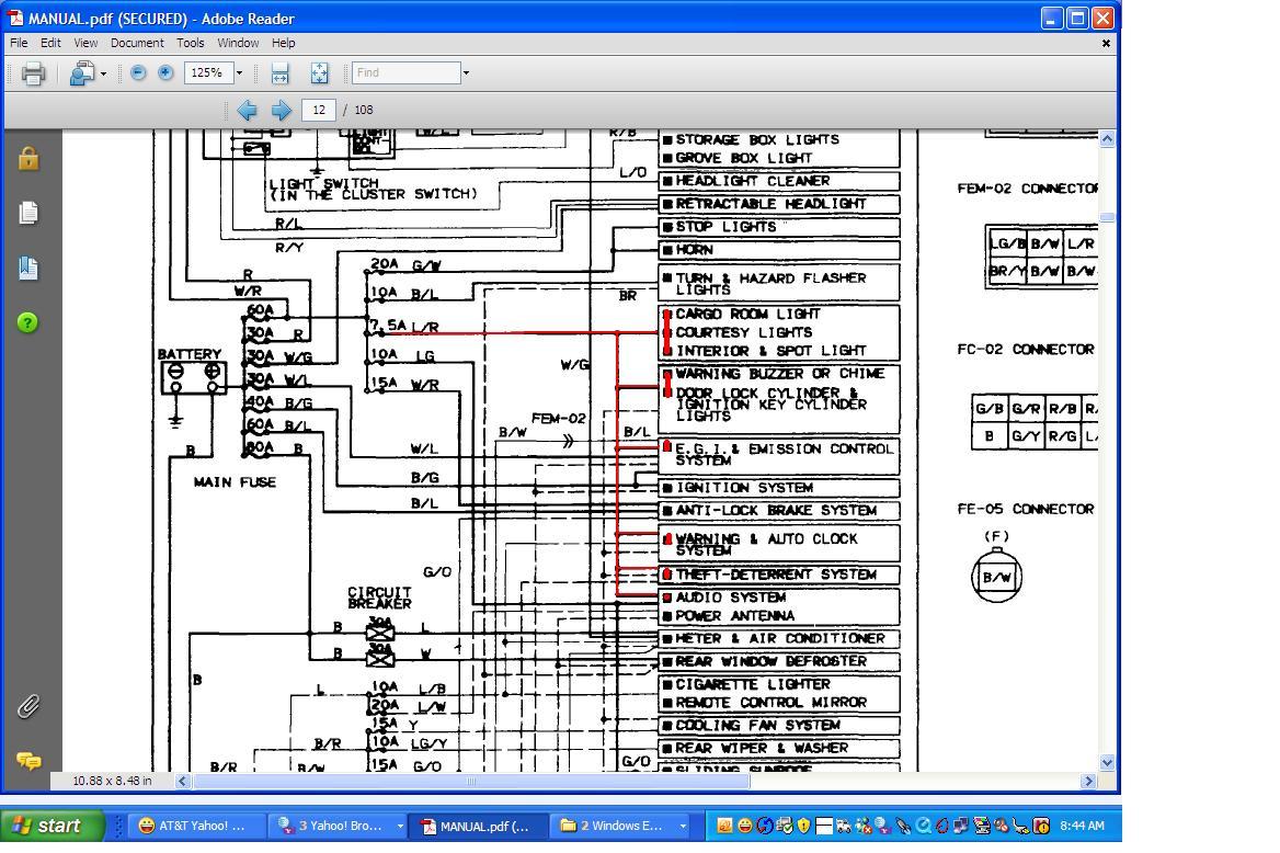 hight resolution of 2007 mazda 5 fuse diagram