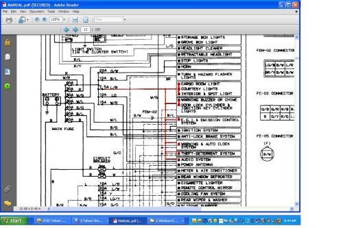small resolution of 2007 mazda 5 fuse diagram
