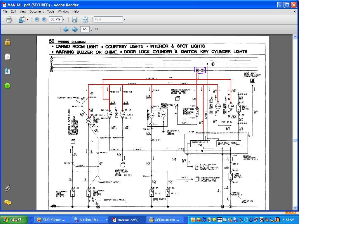 1992 mazda b2200 alternator wiring diagram transformer diagrams 1986 rx 7 rx7 value