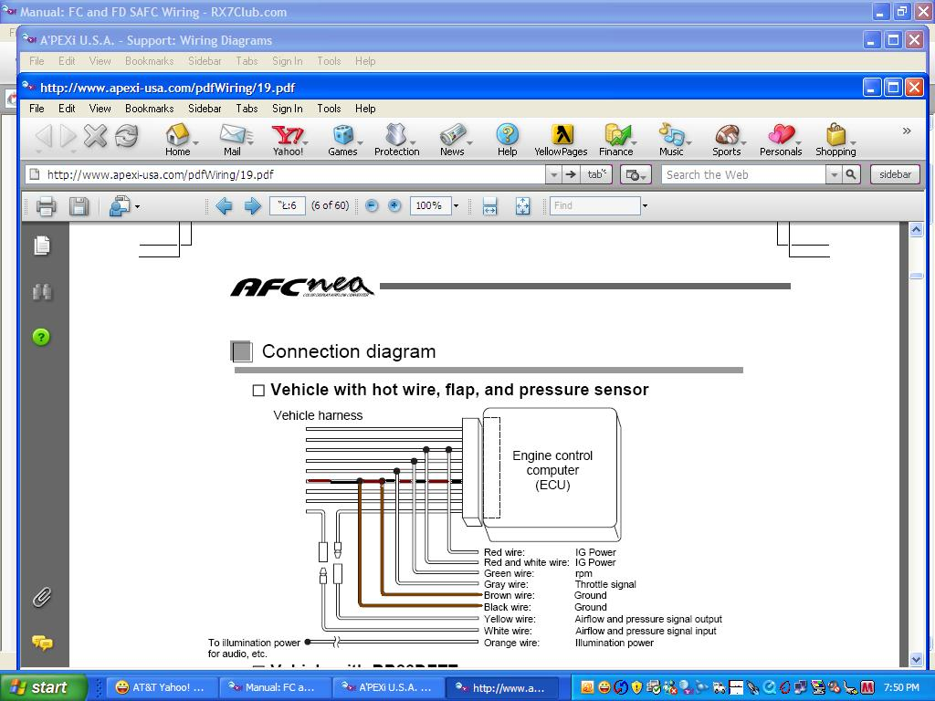 Apexi Safc 2 Wiring Diagram Pdf Schematics Diagrams For 1994 Acura Integra Ls Somurich Com Rh Installation Manual E46