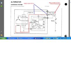 Hino Fd Wiring Diagram Typical Ignition Switch Mins Alternator Fuse