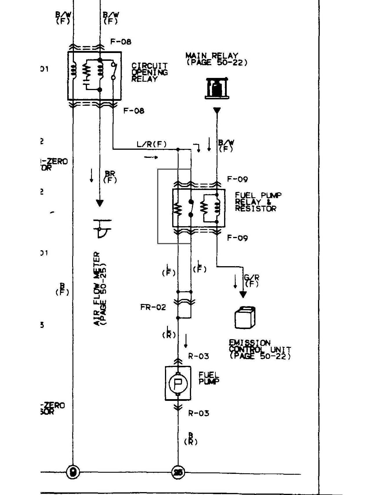 1992 mazda b2200 alternator wiring diagram typical house 1986 rx 7 auto