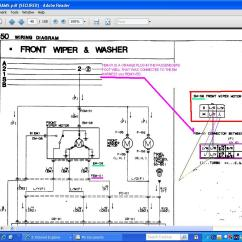 Wiper Motor Wiring Diagram For Car Audio Windshield Rx7club Mazda Rx7 Forum