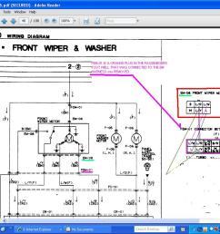 windshield wiper motor wiring rx7club com mazda rx7 forum window motor wiring diagram mazda wiper motor wiring diagram [ 1024 x 768 Pixel ]