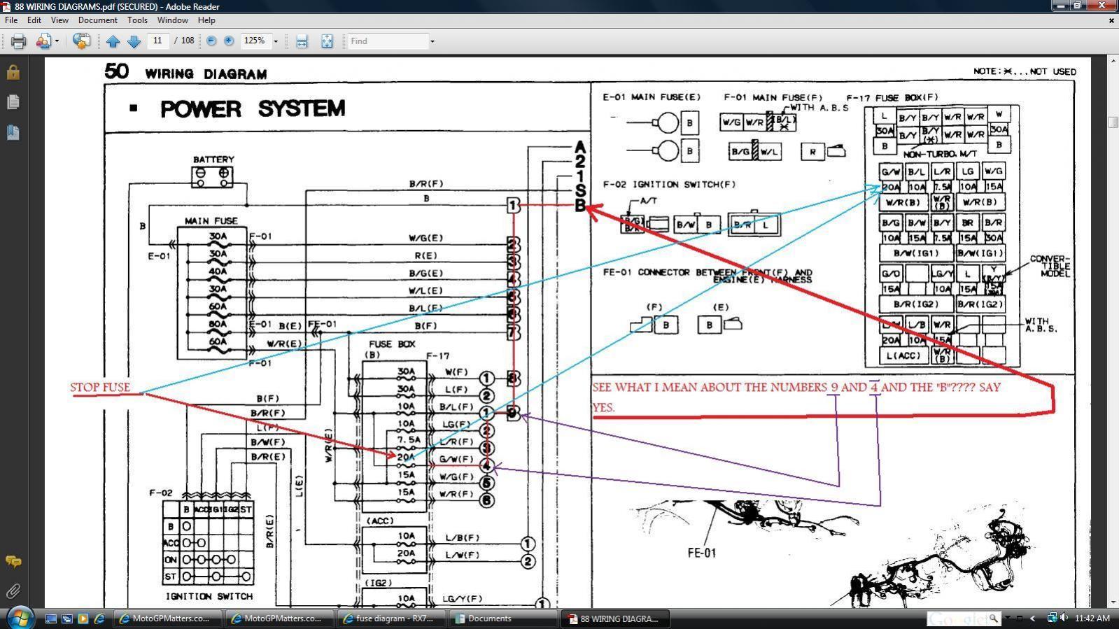 hight resolution of fuse diagram rx7club com mazda rx7 forum 87 rx7 fuse box diagram 93 rx7 fuse box