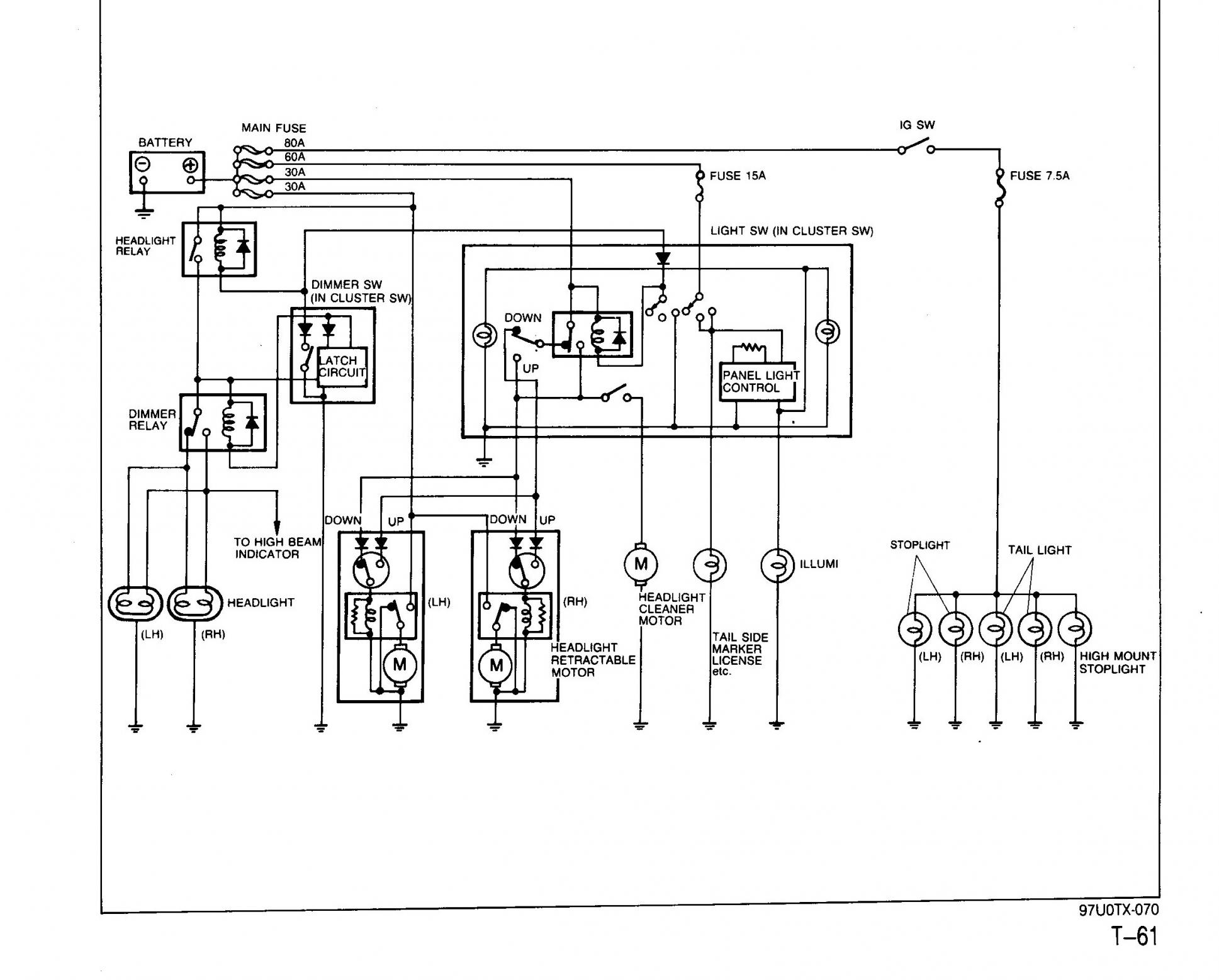 hight resolution of  high beam not working circuit diagram001 jpg