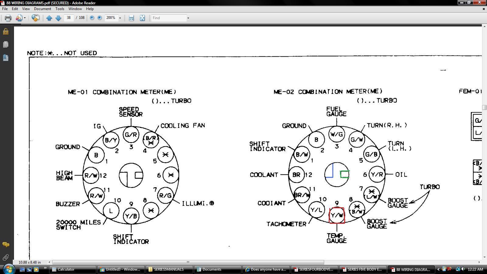 vdo water temp gauge wiring diagram samsung home theatre sunpro 32
