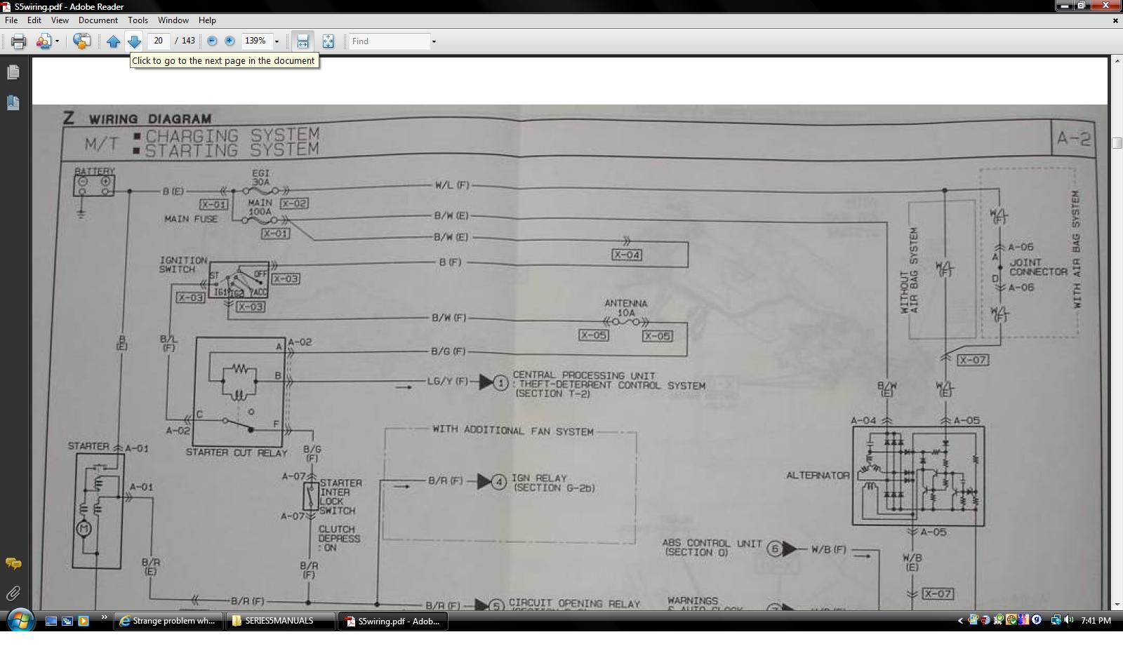 hight resolution of  strange problem when wiring in the clutch interlock switch manual jpg