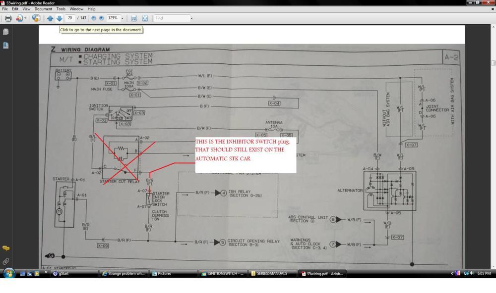 medium resolution of  strange problem when wiring in the clutch interlock switch seriesfivestarttwo jpg