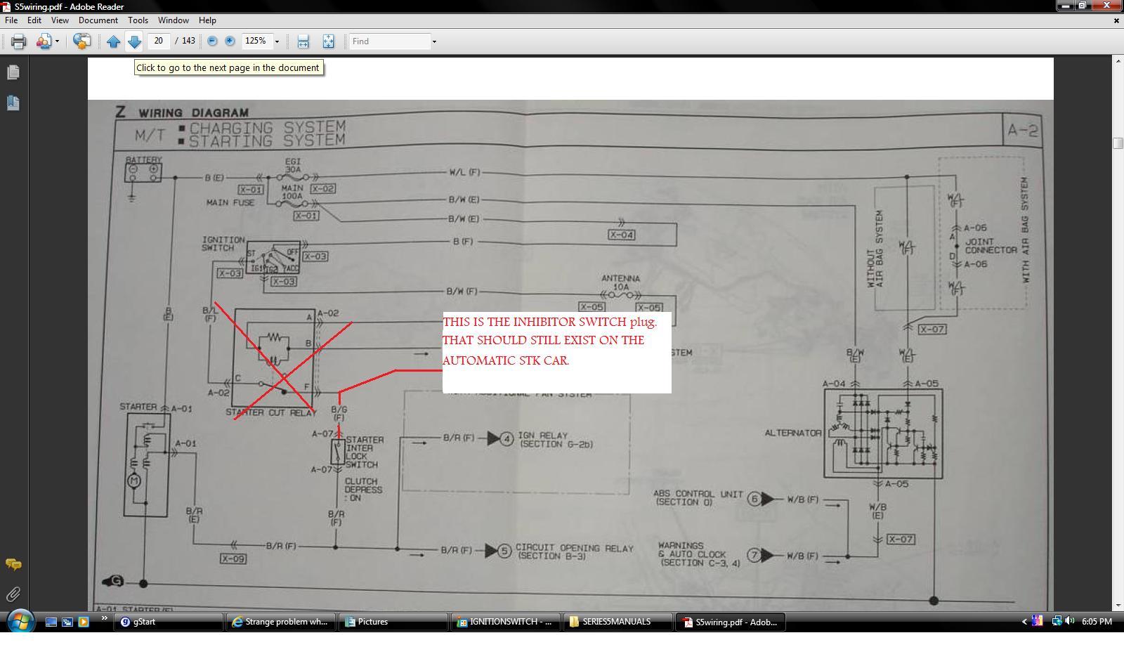 hight resolution of  strange problem when wiring in the clutch interlock switch seriesfivestarttwo jpg