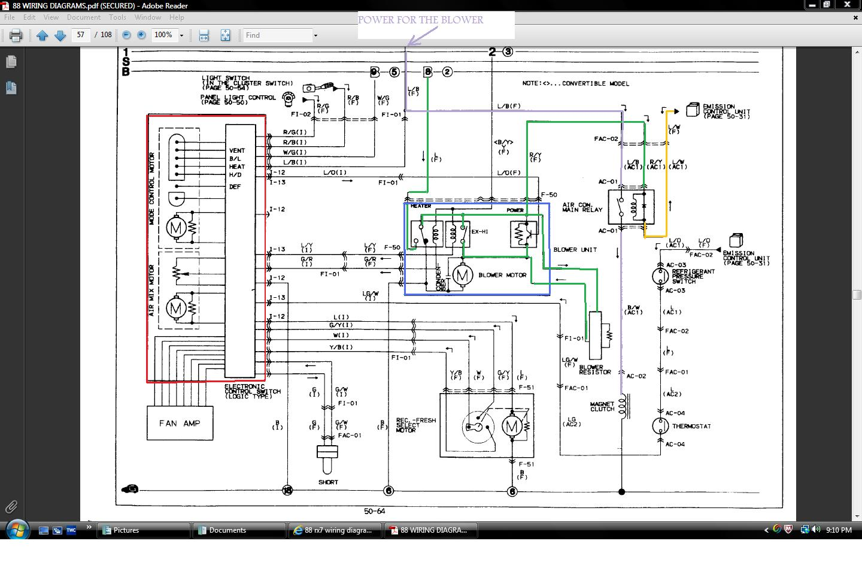 g body ac wiring diagram rack and pinion rebuild 88 rx7 rx7club com mazda forum heaterpowerblower jpg