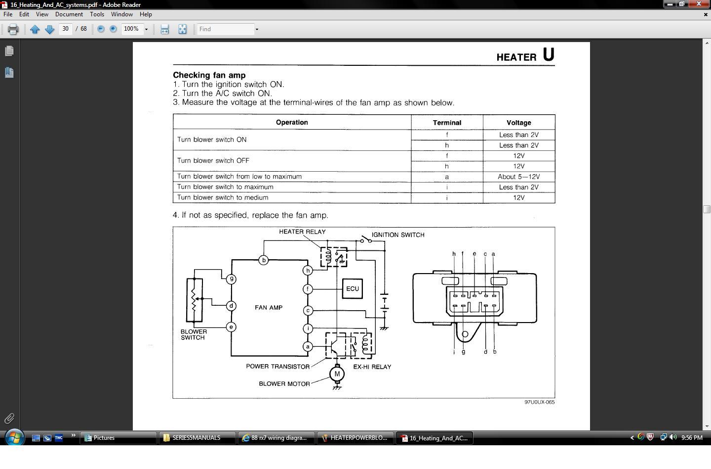 88 mazda rx7 wiring diagram