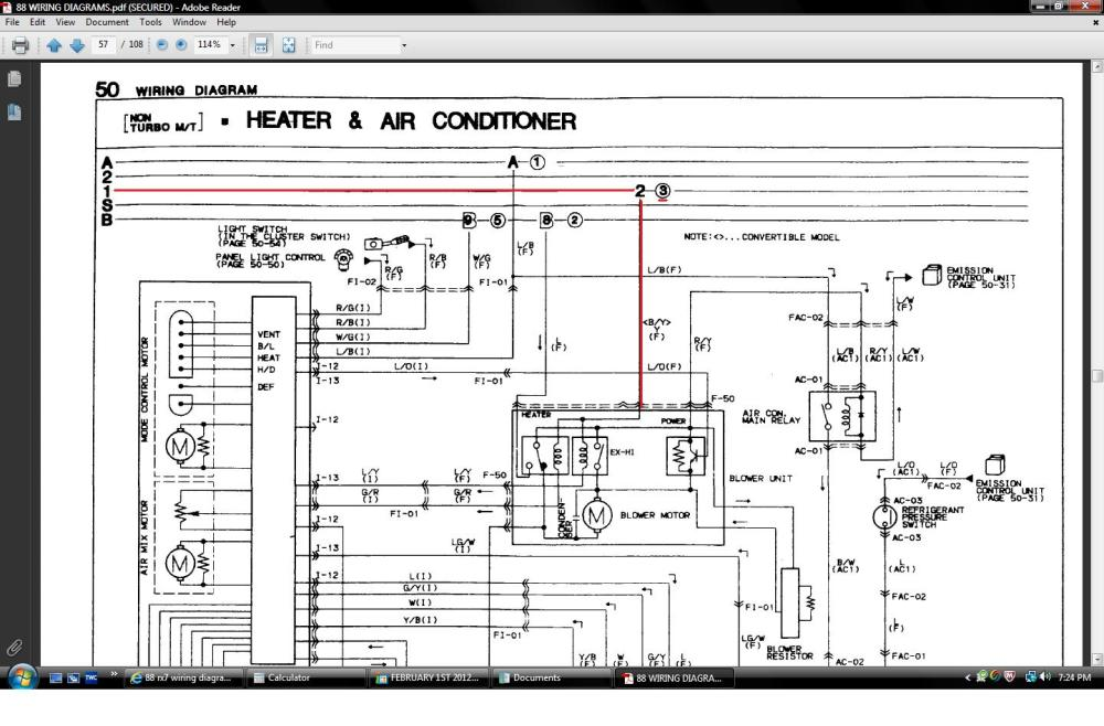 medium resolution of 1985 mazda rx 7 wiring diagram enthusiast wiring diagrams u2022 rh rasalibre co