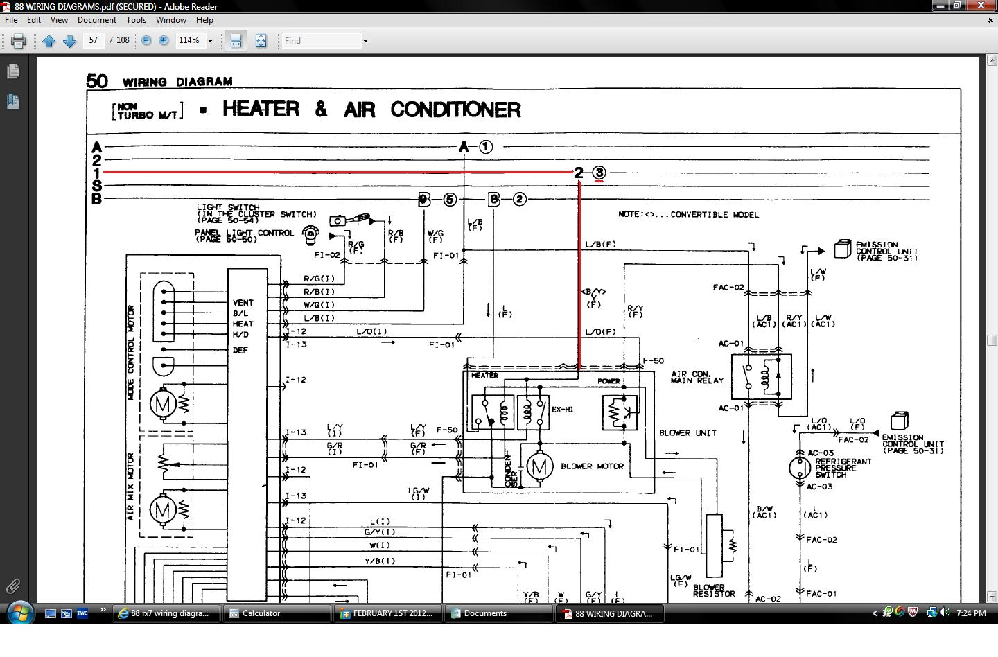 hight resolution of 1985 mazda rx 7 wiring diagram enthusiast wiring diagrams u2022 rh rasalibre co