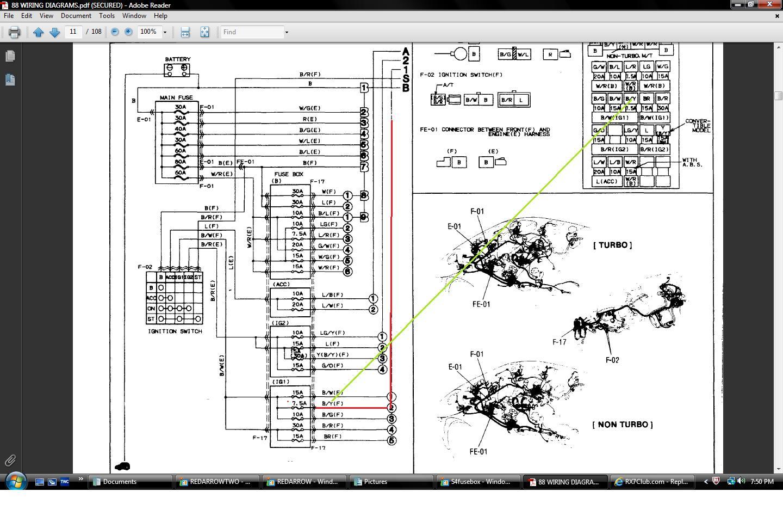 88 rx7 wiring diagram 21 wiring diagram images wiring