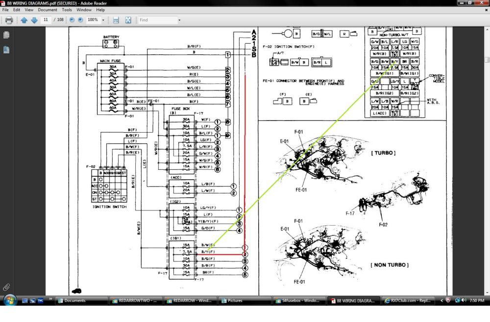 medium resolution of 1991 mazda rx 7 engine diagram wiring diagram load1990 mazda rx 7 engine diagram wiring diagram