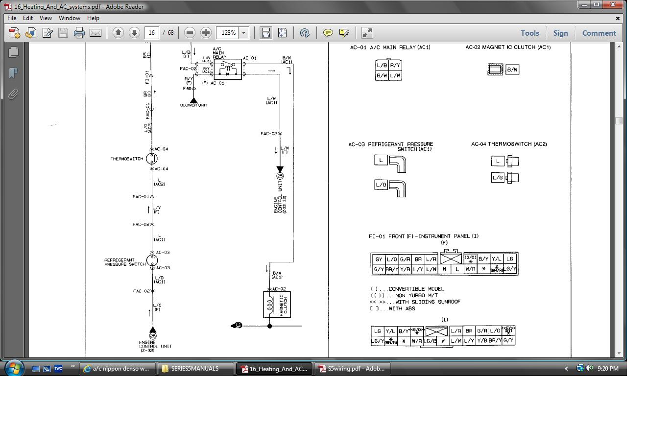 hight resolution of a c nippon denso wiring diagram rx7club com denso wiring diagram 3 denso one wire alternator wiring