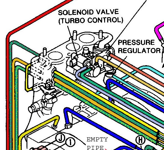 subaru vacuum diagram basic hot rod wiring line routing question w picture rx7club com mazda rx7 forum hose diagram2 jpg