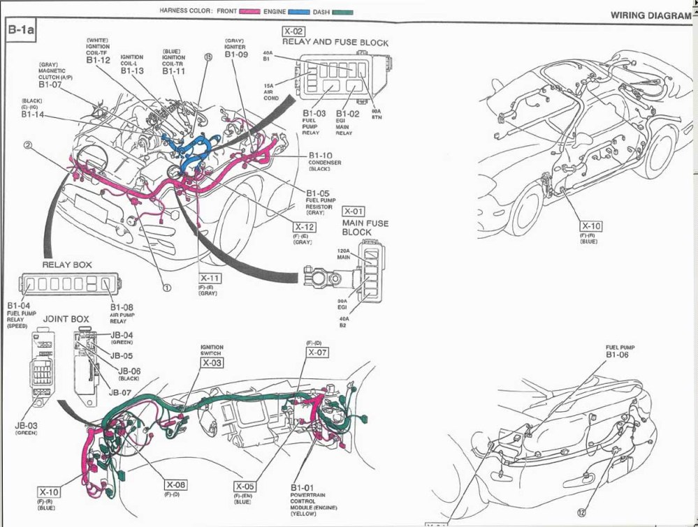 3gen Rx7 Wiring Diagram - Wiring Diagrams