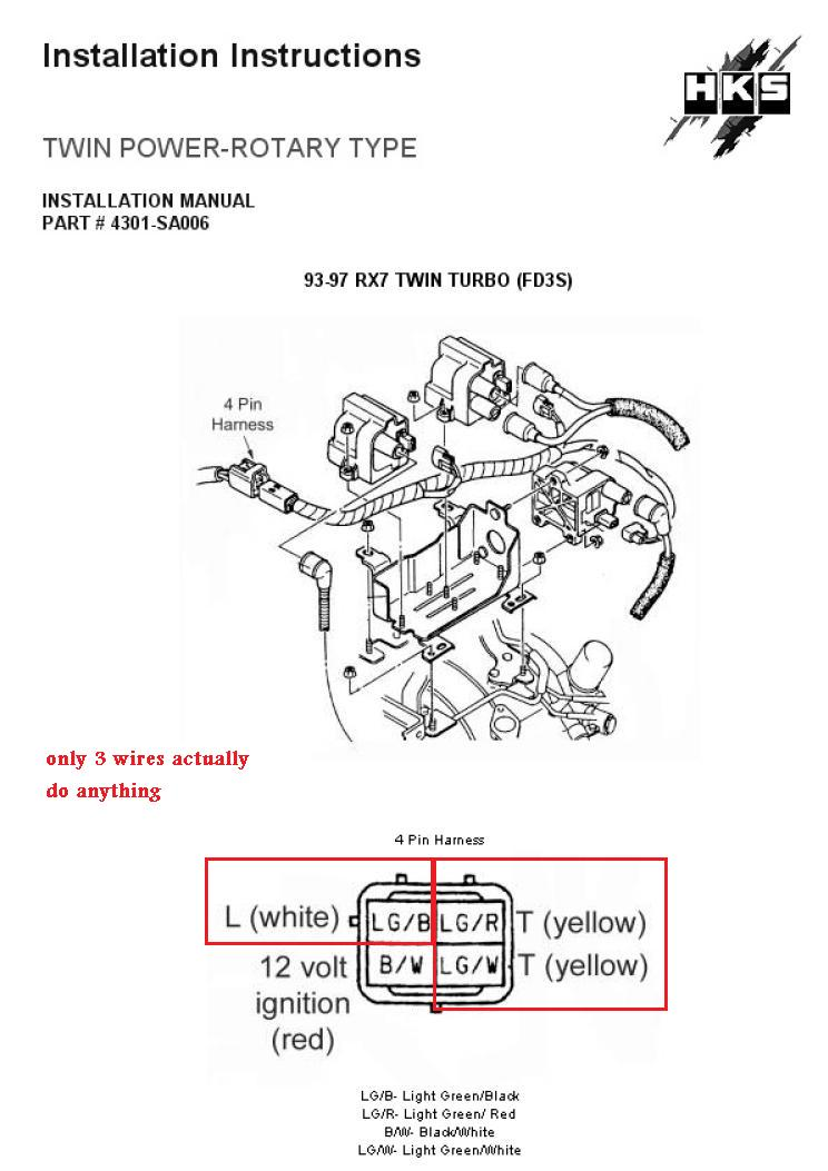 Rx7 Turbo 2 Wire Harness : 24 Wiring Diagram Images