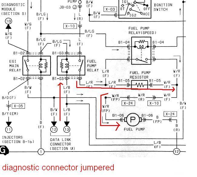 mazda 3 fuel pump wiring diagram