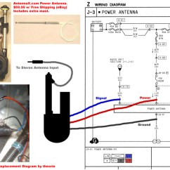 Club Car Wiring Diagram 1993 Wire Maker [guide] Aftermarket Power Antenna Replacement - Rx7club.com Mazda Rx7 Forum