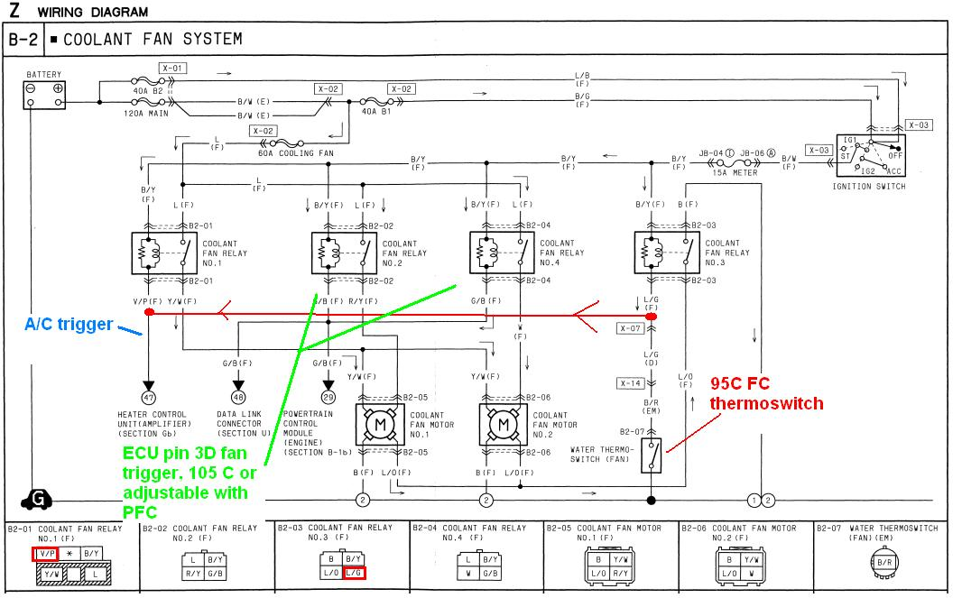Honda Ridgeline Lighting Wiring Diagram Taurus Sho 2 Speed 4500cfm Electric Radiator Fan Rx7club
