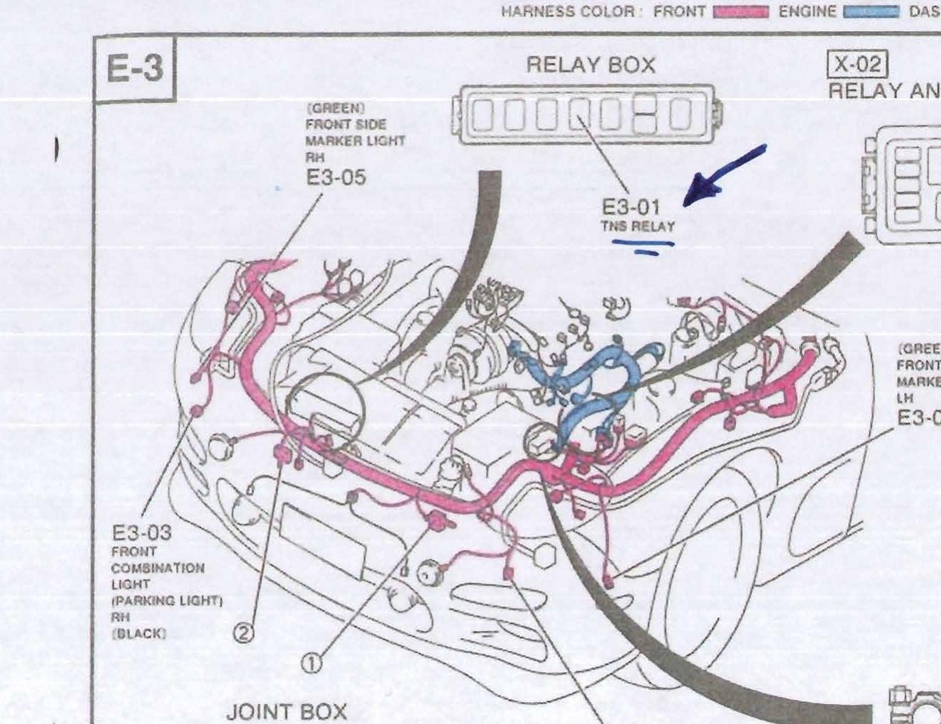 hight resolution of 2000 dodge durango infinity stereo wiring diagram 2005 britishpanto with turn signal trouble tns relay ii jpg