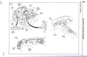Pop up headlight control diagram question  RX7Club  Mazda RX7 Forum