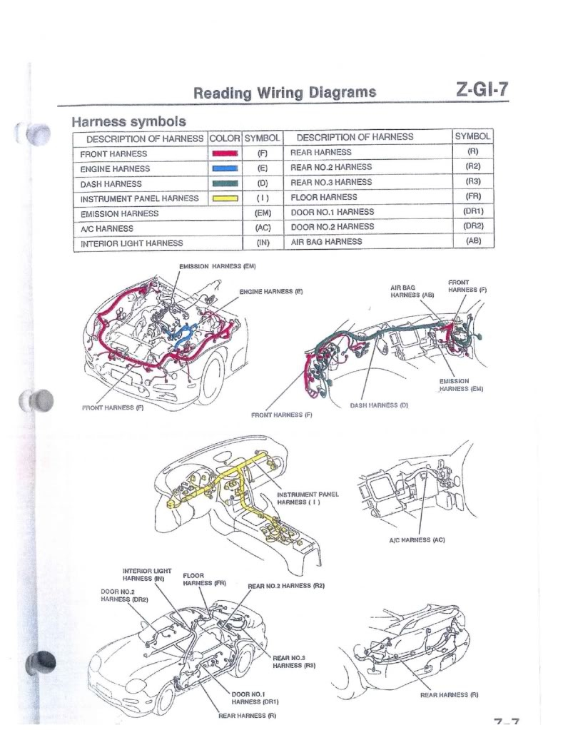 Fd Rx7 Ecu Wiring Harness Diagram Auto Electrical Related With
