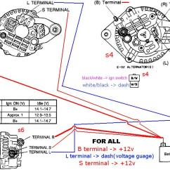 Bosch 12 Volt Relay Wiring Diagram 1998 Honda Civic Engine Fd Alternator - Rx7club.com Mazda Rx7 Forum