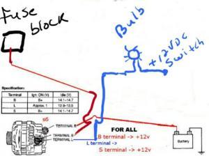 fd alternator wiring  RX7Club  Mazda RX7 Forum