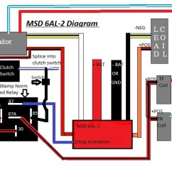 Msd Ignition Wiring Diagram Mopar 2005 Gmc Sierra 6al With 2 Step Example Electrical And Install Instructions Rx7club Com Mazda Rx7 Forum Rh Mallory Hei Distributor Chevy
