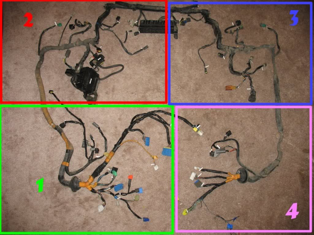 hight resolution of 1993 front harness annotated connector pictures rx7club com 1980 mazda rx7 wiring harness 1993 front harness