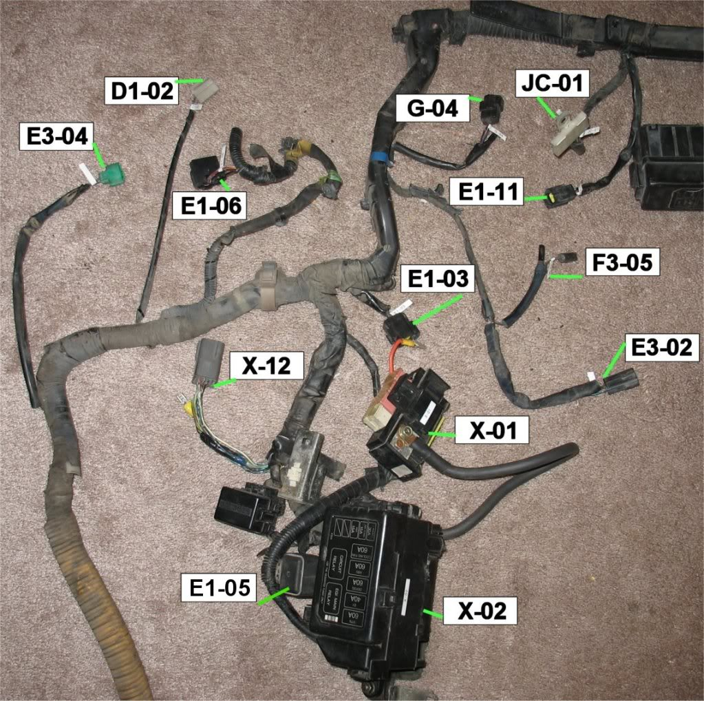 Coolant Fan System Wiring Diagram Of 1994 Mazda Rx 7