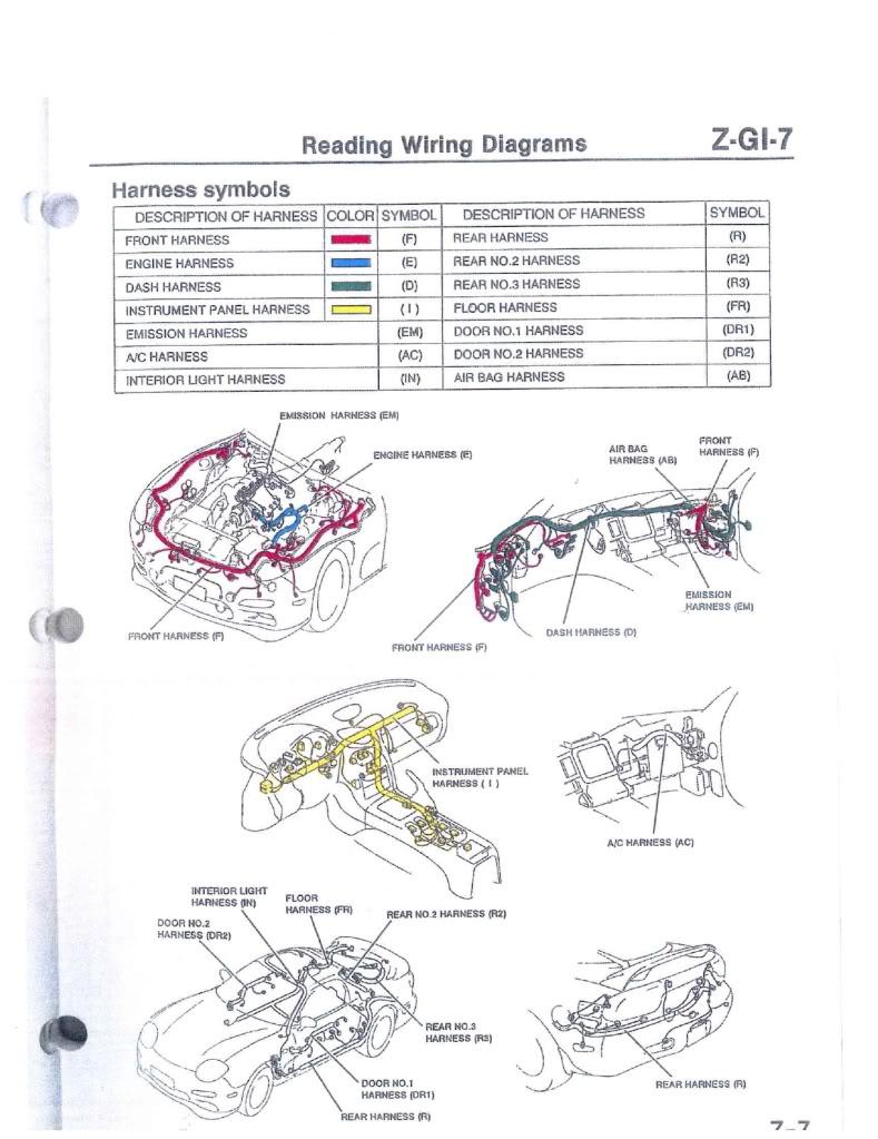 [WRG-3497] 1985 Mazda Rx 7 Fuse Diagram