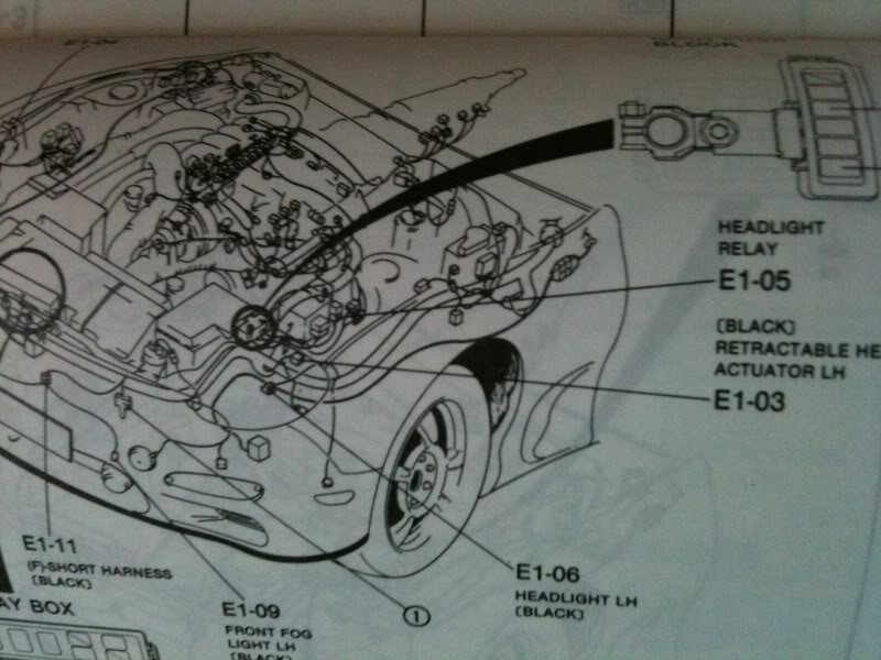 1994 Mazda Rx7 Headlight Cleaner Wiring Diagram All About Wiring