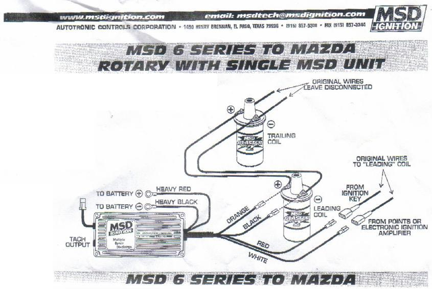 Msd Ignition Wiring Diagram 6btm. Msd. Free Download ... on