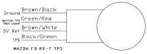 Haltech FD TPS Wiring  help!  RX7Club  Mazda RX7 Forum