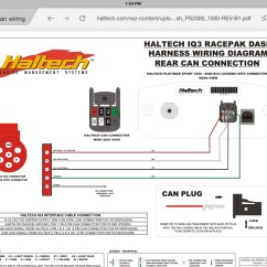 Haltech Wiring Diagram Simple Male Frog Dissection Racepak Iq3 Can Connector Rx7club Mazda Rx7