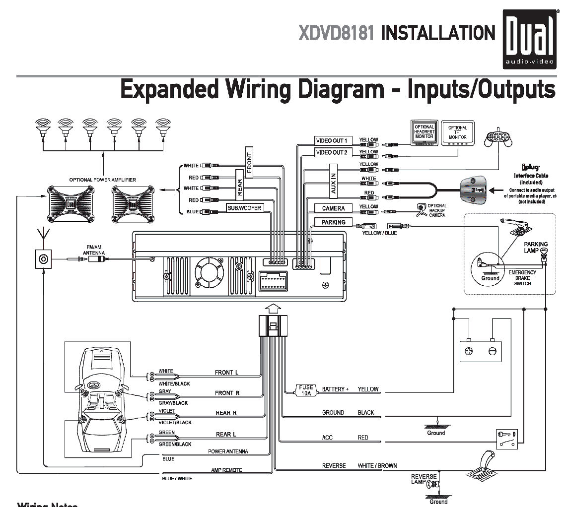 dual radio wiring diagram efcaviation