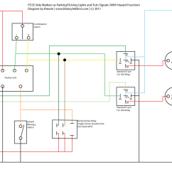 Wiring Diagram For Motorcycle Turn Signals Gm Gm2 Gs Xg Installing Fender Side Markers Using As Driving Lights