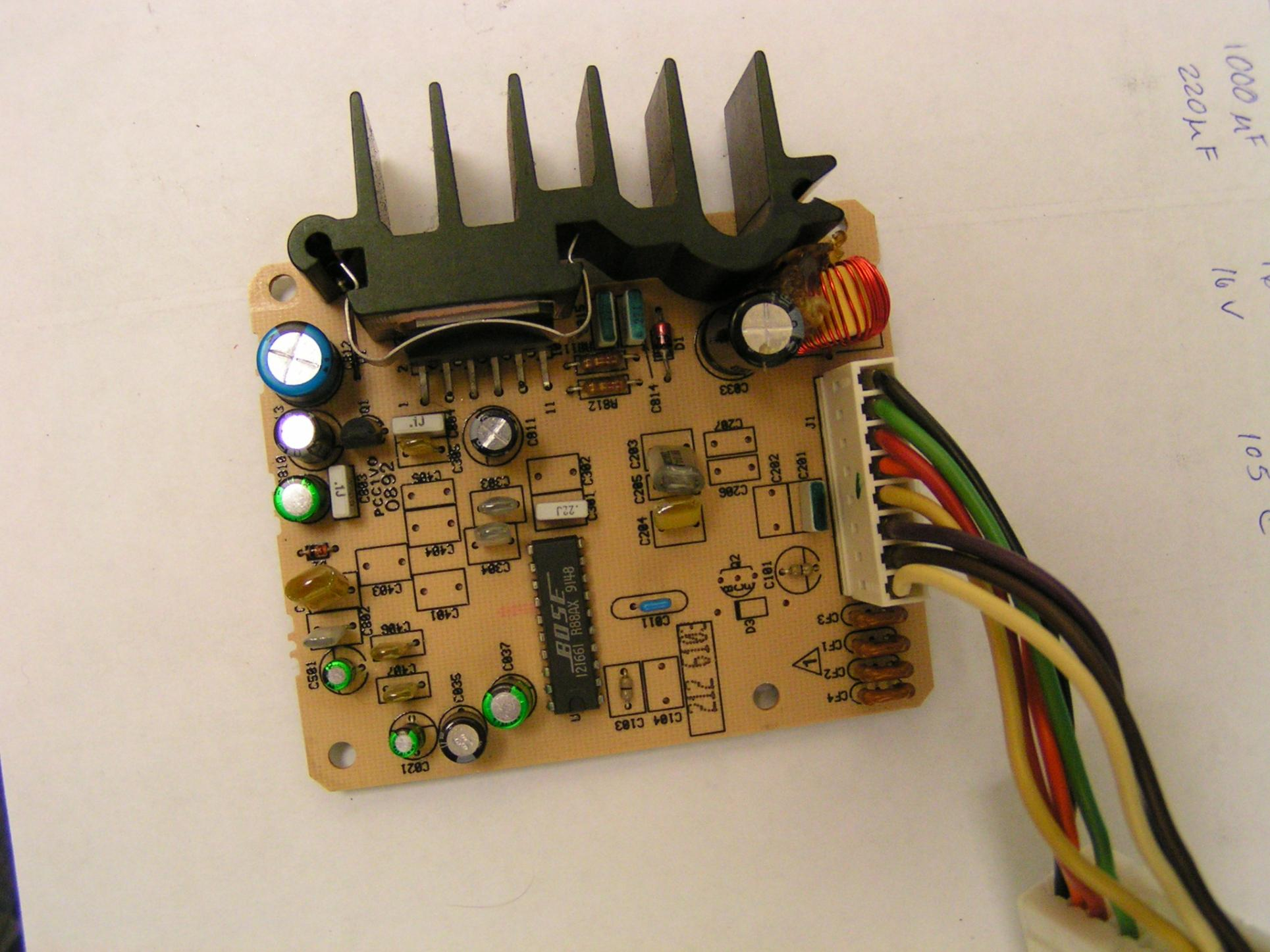 Amplifier And Speaker Wiring Diagram Bose Amp Diy Repair Guide Rx7club Com Mazda Rx7 Forum